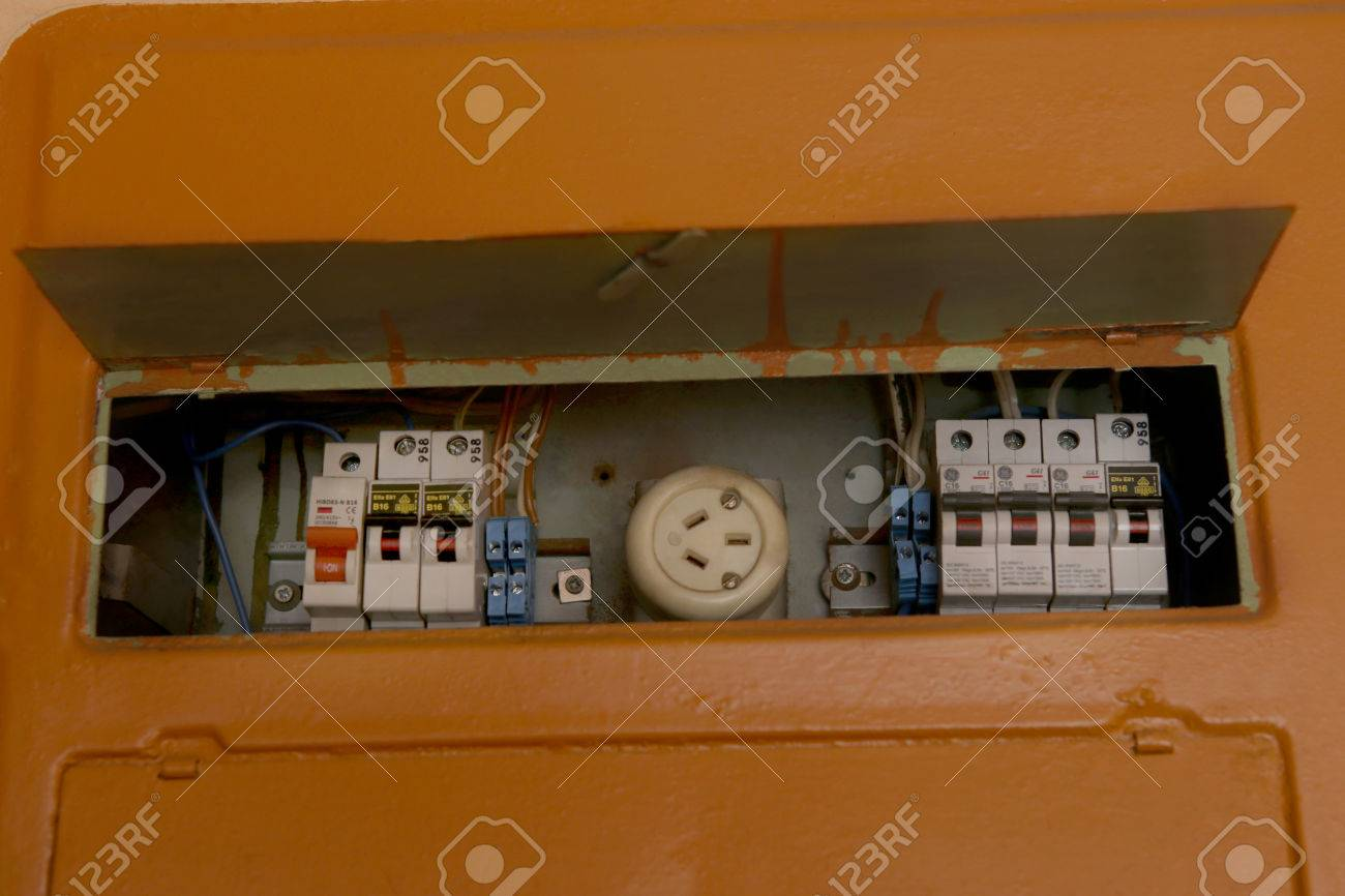 hight resolution of home fuse box electrical equipment old fusebox in house stock photo 70259413
