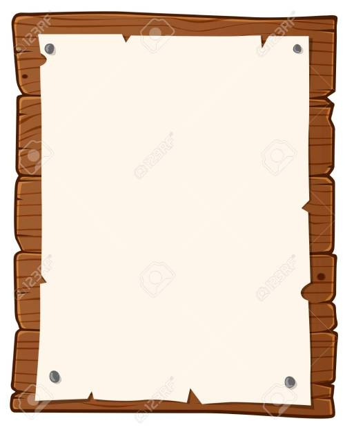 small resolution of vector wooden bulletin board with paper for writing text
