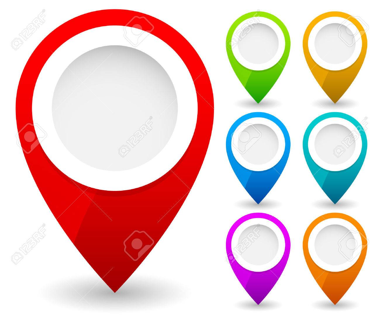 map marker map pin