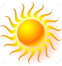 sun clip art with transparent glow effect sun shine weather tanning  [ 1300 x 1300 Pixel ]