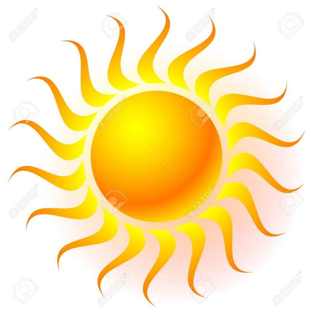 medium resolution of sun clip art with transparent glow effect sun shine weather tanning
