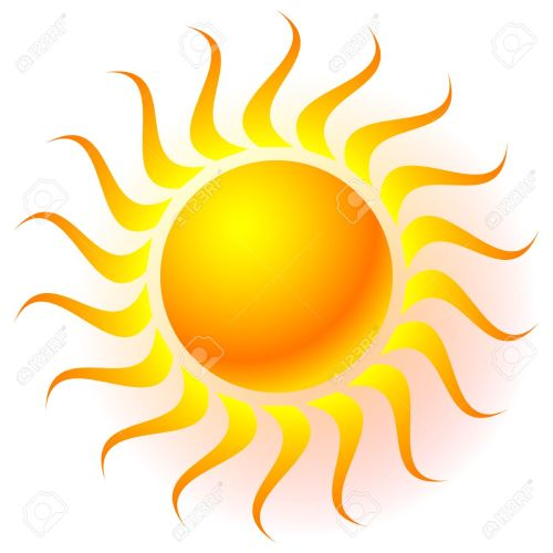 small resolution of sun clip art with transparent glow effect sun shine weather tanning