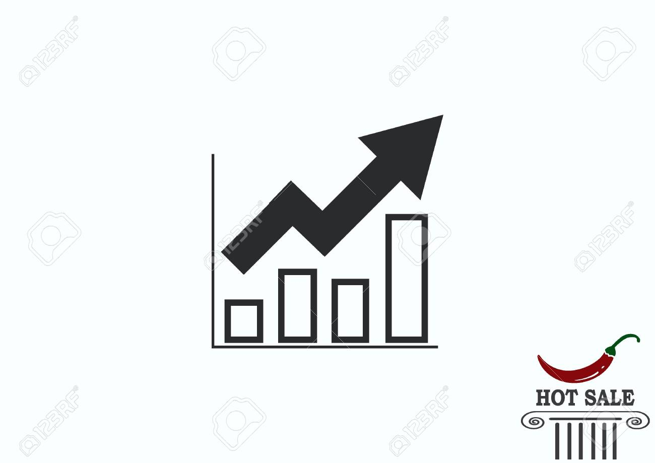hight resolution of diagram icon stock vector 67619540