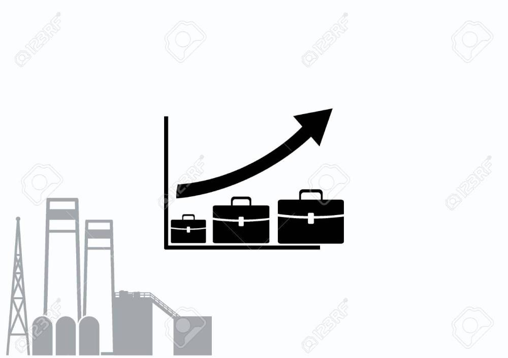 medium resolution of diagram icon stock vector 69085520