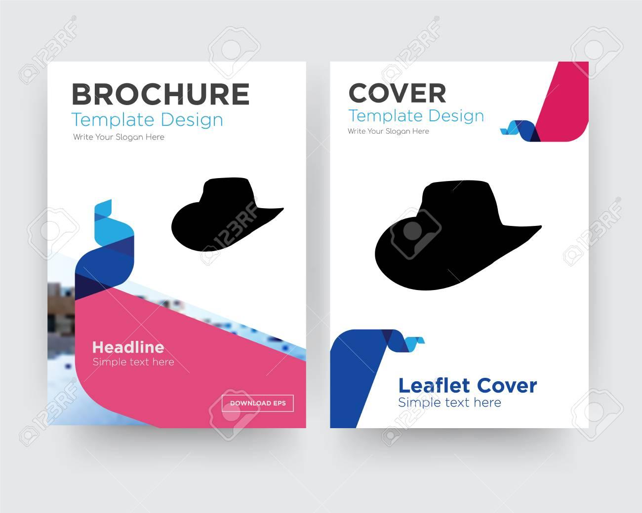 cowboy hat brochure flyer
