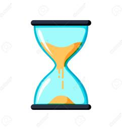 hourglass antique instrument hourglass as time passing concept for business deadline urgency and running [ 1299 x 1300 Pixel ]
