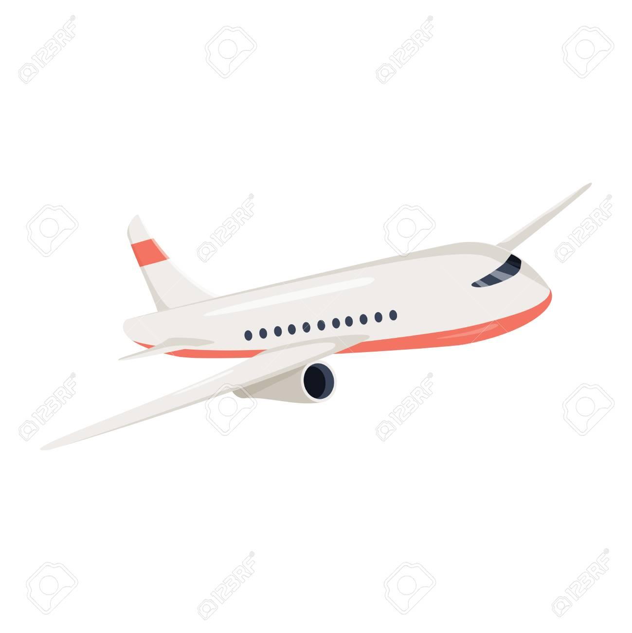 aeroplane icon vector illustration