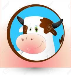 dairy cow clipart stock vector 12861562 [ 1203 x 1300 Pixel ]