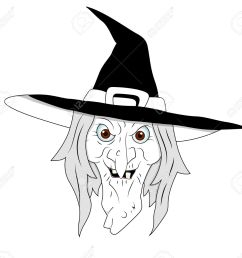 halloween witch clipart stock vector 13276845 [ 1300 x 1189 Pixel ]