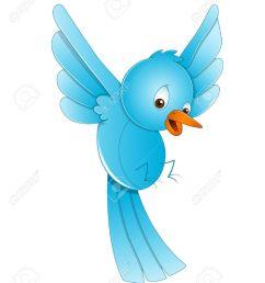 cute bird flying stock vector 13358172 [ 1067 x 1300 Pixel ]