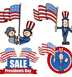 various clip art and design for presidents day stock vector 22060203 [ 1300 x 1195 Pixel ]