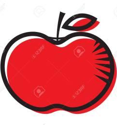 foto de archivo red apple clipart dise o [ 1300 x 1145 Pixel ]