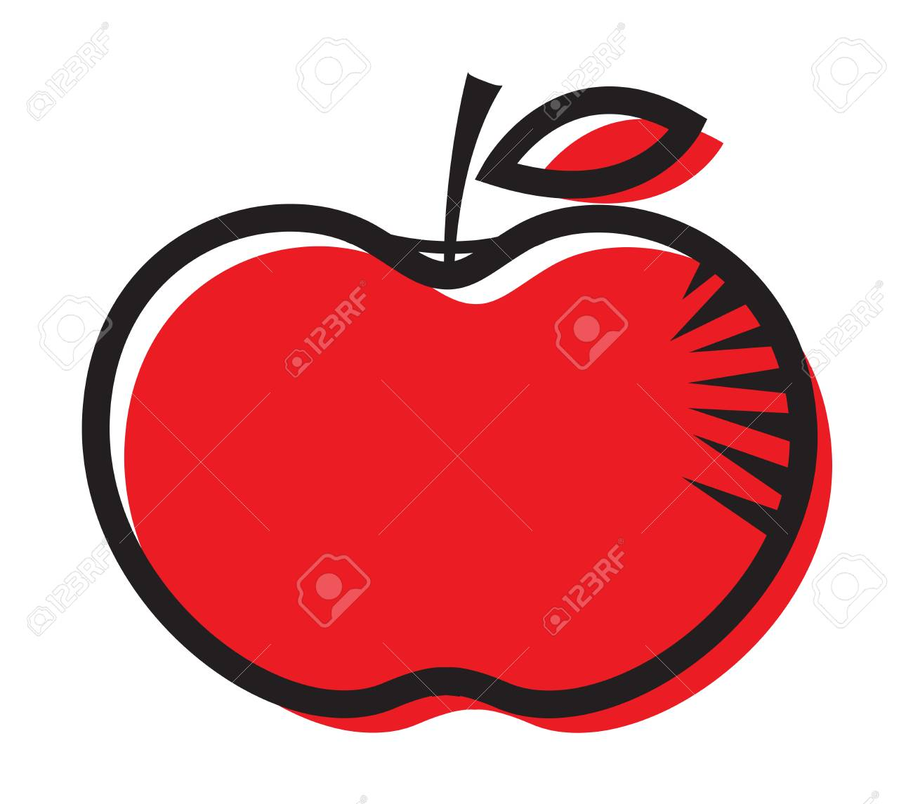 hight resolution of foto de archivo red apple clipart dise o