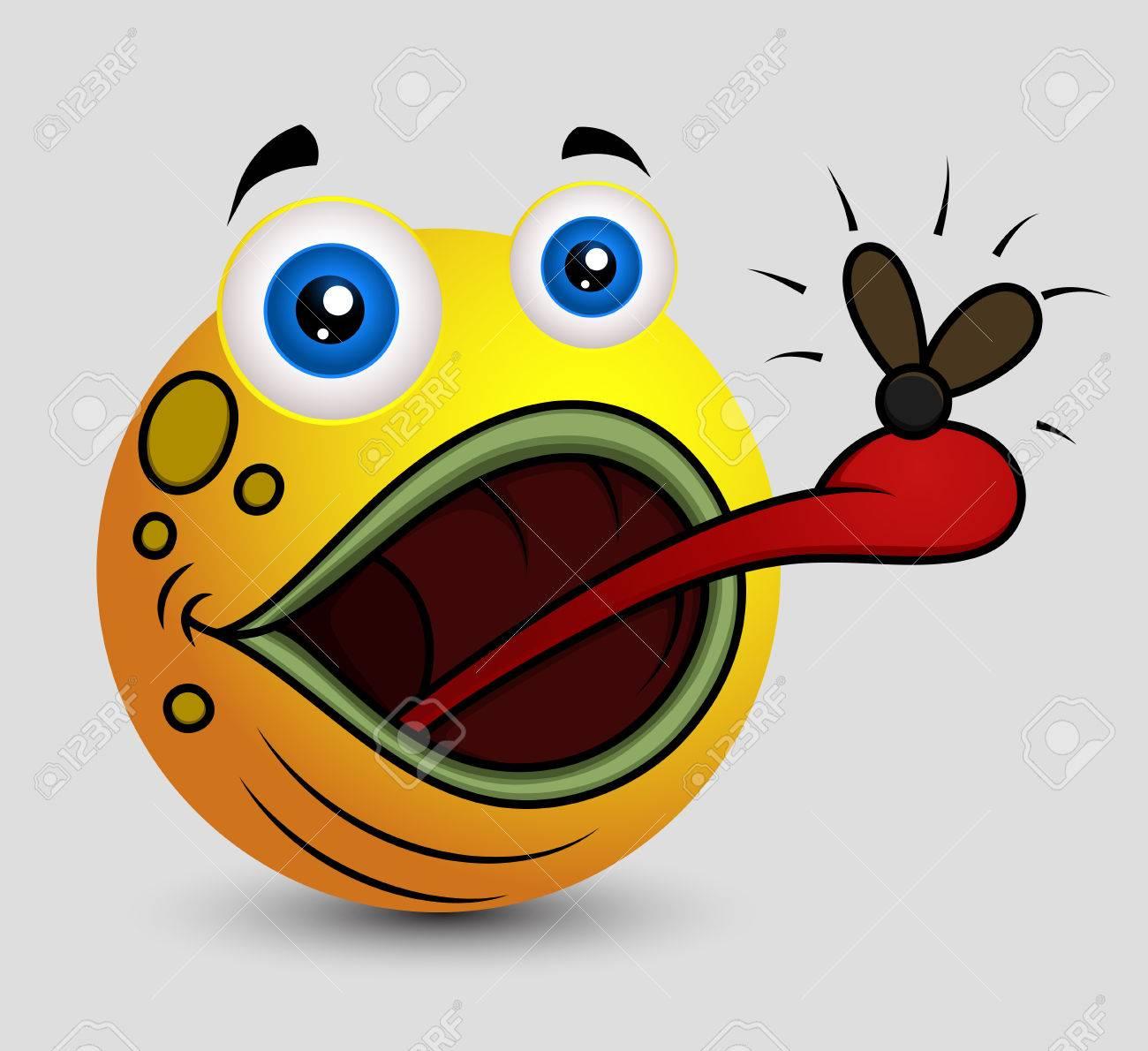 cartoon frog emoji smiley
