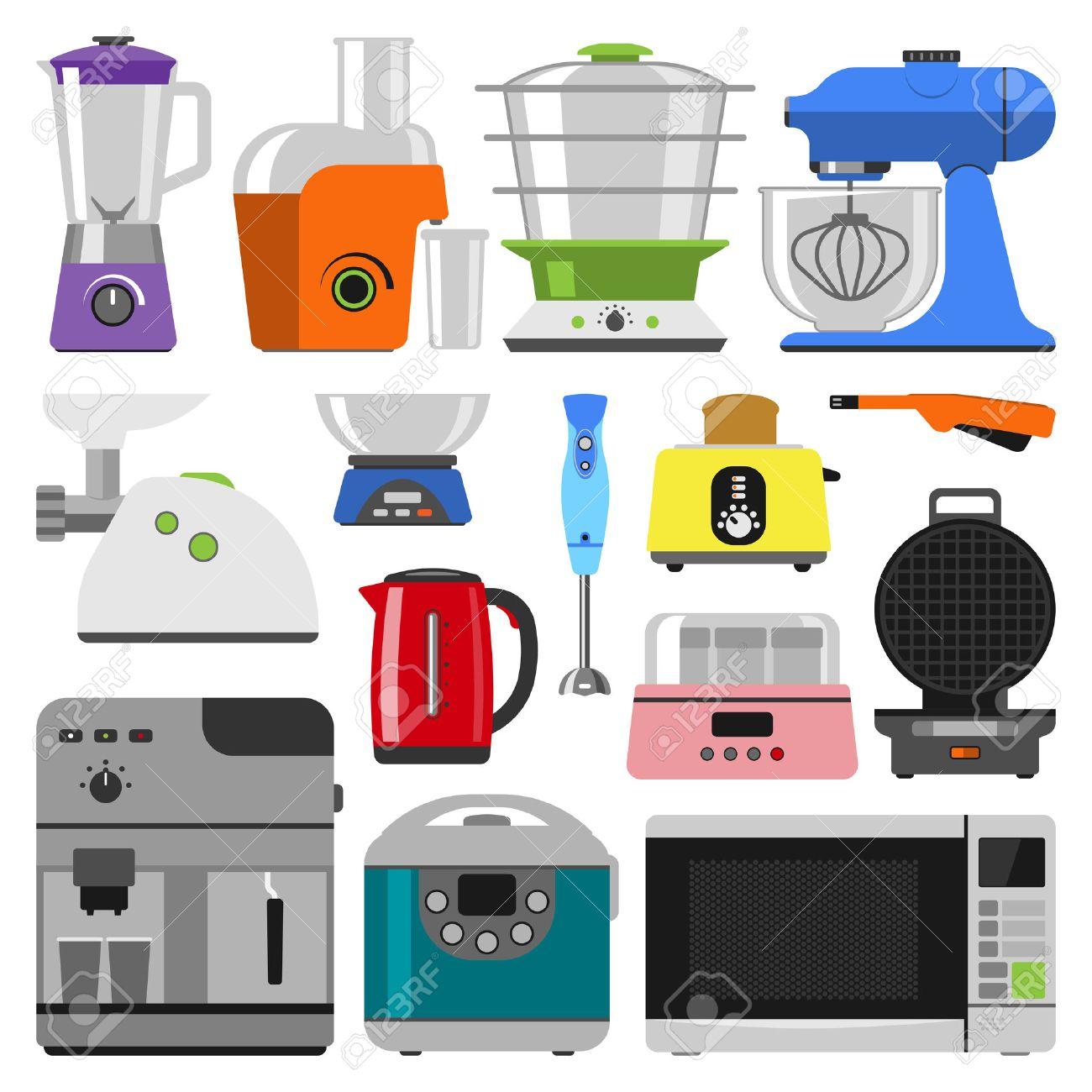 kitchen equipment aid gas grill home appliances cooking and household set