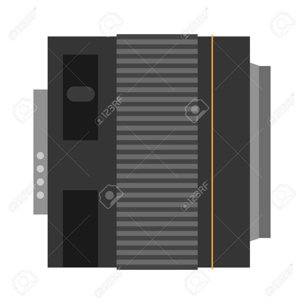 medium resolution of camera photo optic lens reflection movie instrument on white background type objective equipment professional