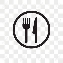 Restaurant Vector Icon Isolated On Transparent Background Restaurant Royalty Free Cliparts Vectors And Stock Illustration Image 108634703