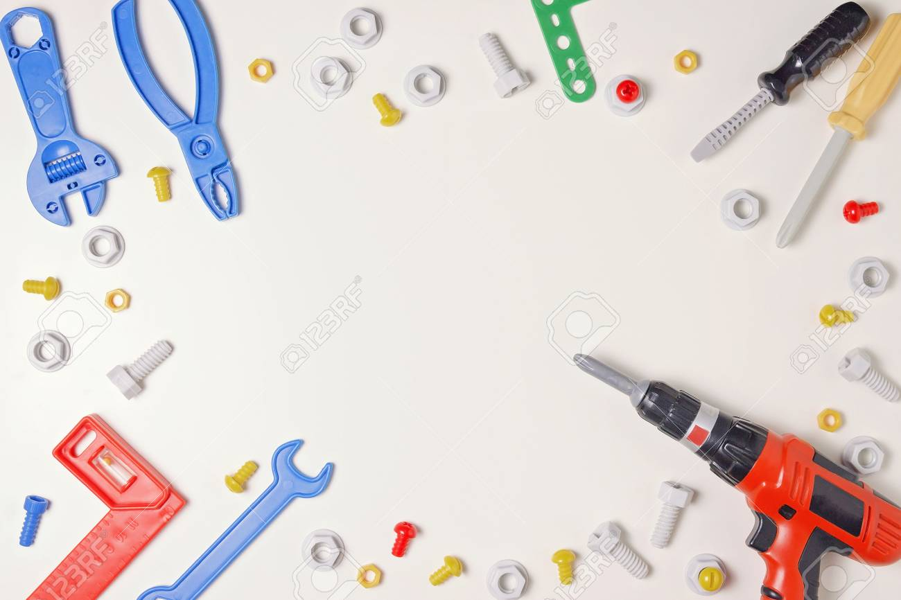 toys construction tools from