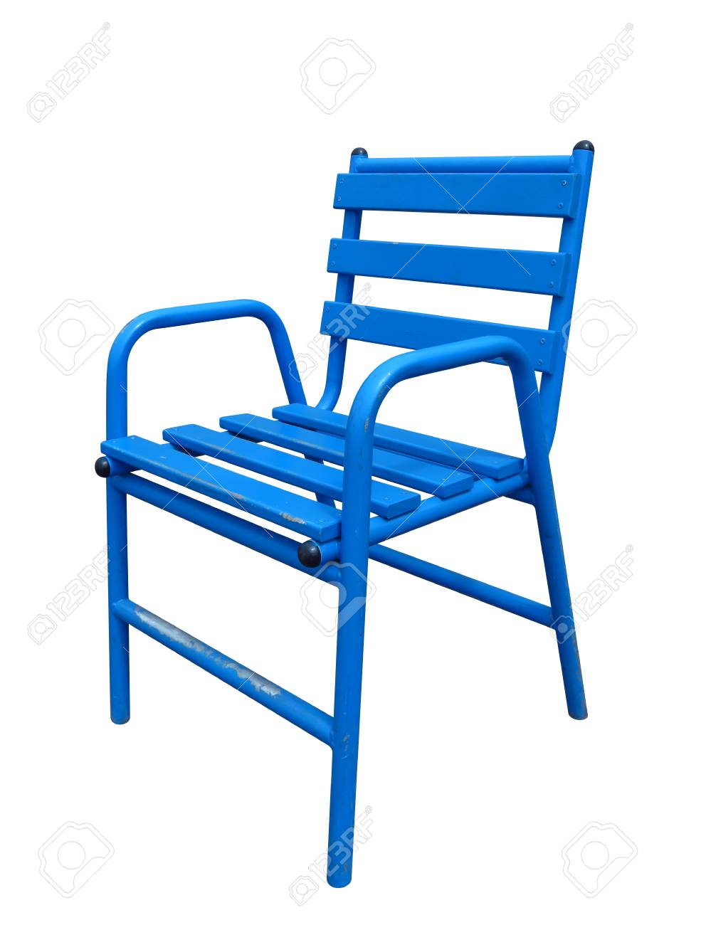 Famous Chair Famous Blue Cannes Chair Isolated On White Clipping Path Included
