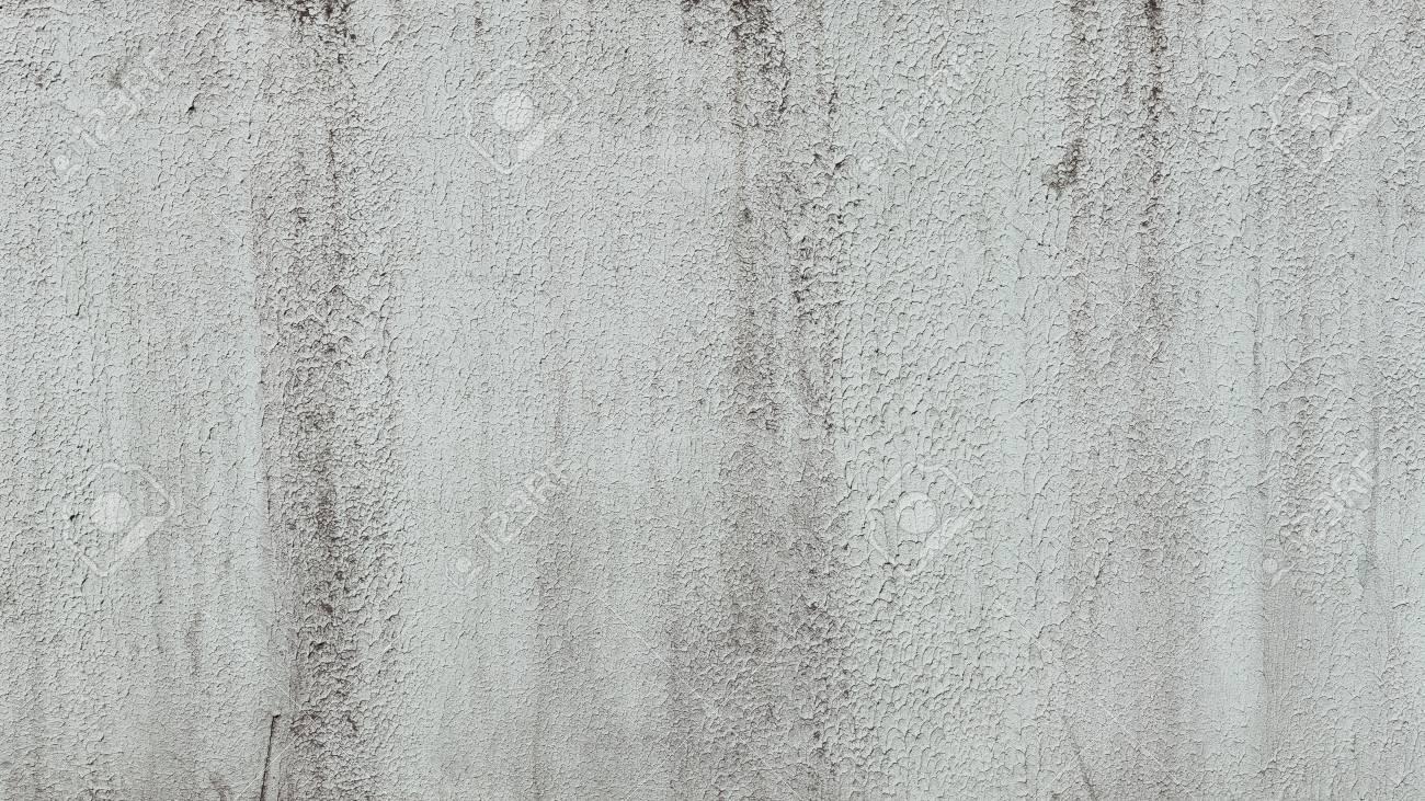 old cracked white plaster