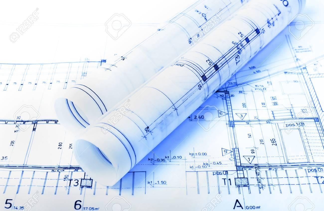 architecture rolls architectural plans