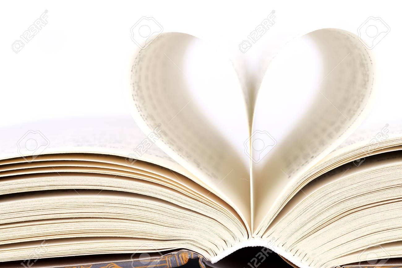 A Book Of Love With Pages Of Books Stock Photo Picture And Royalty Free Image Image 90672382