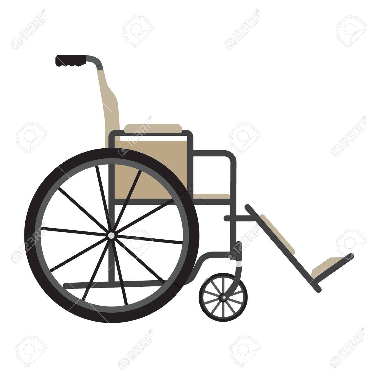 raster illustration fauteuil roulant pour personnes handicapees isole sur fond blanc icone de materiel medical handicap handicape