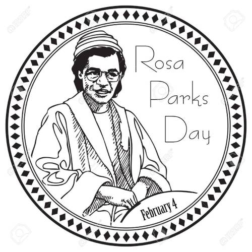 small resolution of stamp imprint for the holiday rosa parks day the event is marked on february 4