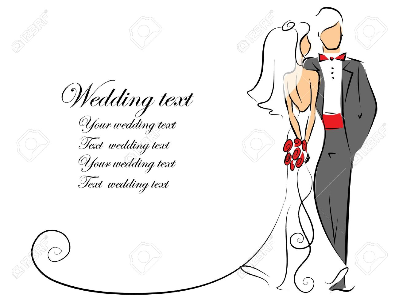 hight resolution of silhouette of bride and groom background