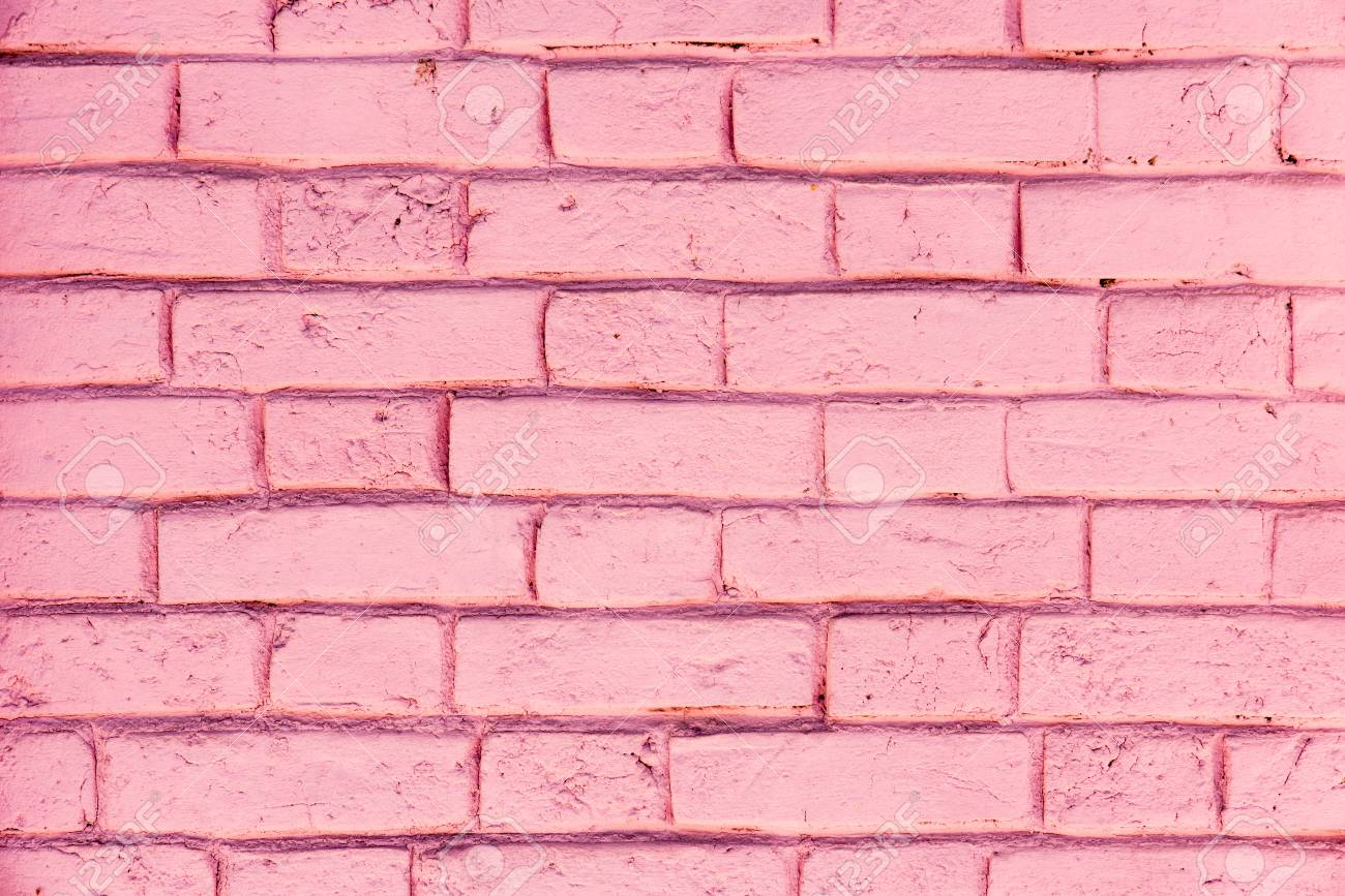 pink color of brick