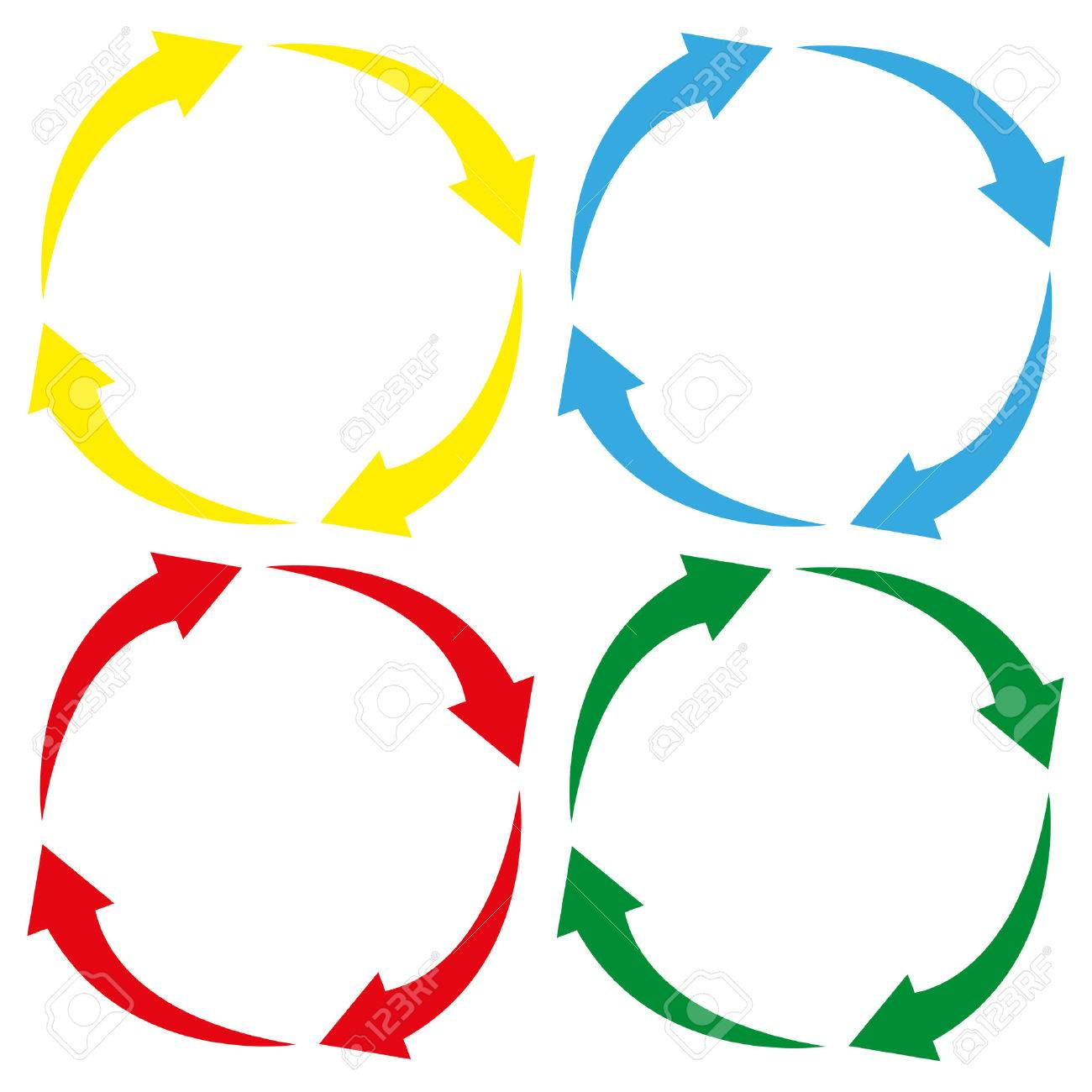 arrow circle icon cycle