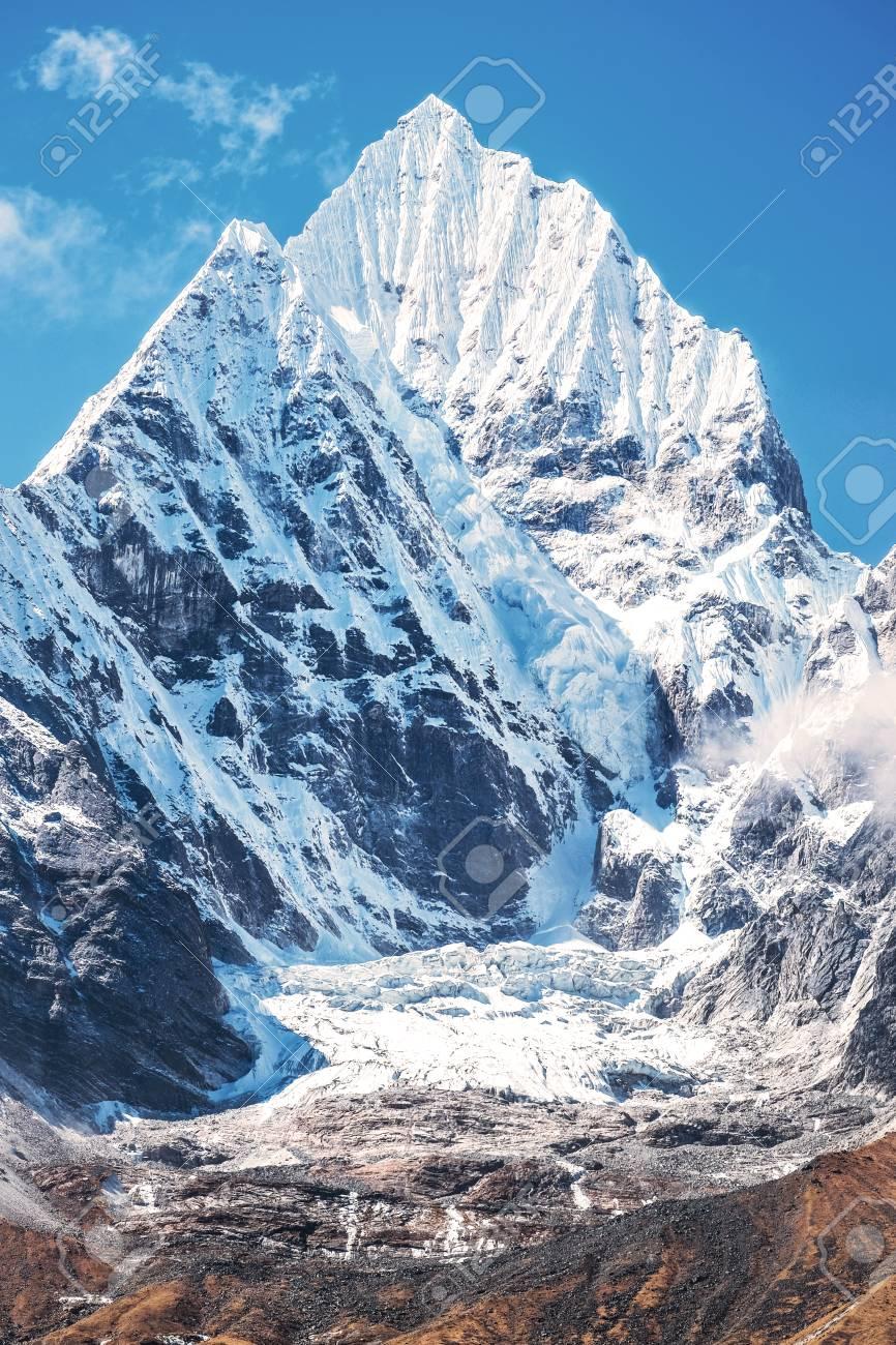 La Plus Haute Montagne Du Monde : haute, montagne, monde, Sommet, Montagne, Everest., Haute, Monde., National,, Népal., Banque, D'Images, Photos, Libres, Droits., Image, 86560594.