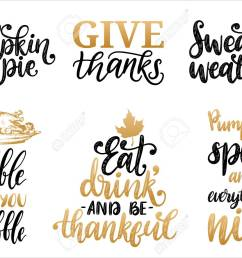 sweater weather give thanks pumpkin pie etc stock vector 111940424 [ 1300 x 919 Pixel ]