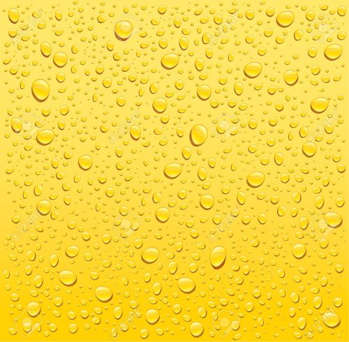 small resolution of vector yellow water drops background