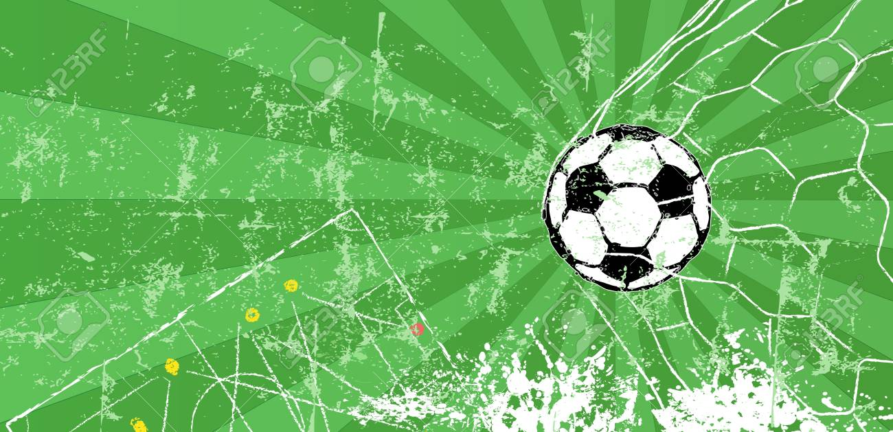 soccer football design template