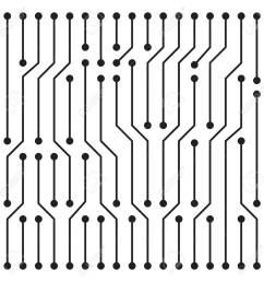 high tech circuit board texture beautiful banner wallpaper design illustration stock vector 81503228 [ 1300 x 1300 Pixel ]