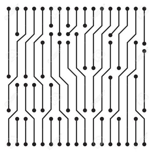 small resolution of high tech circuit board texture beautiful banner wallpaper design illustration stock vector 81503228