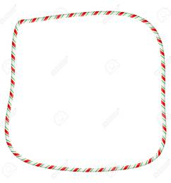 candy cane frame border for christmas design isolated on white background stock vector 91605926 [ 1300 x 1300 Pixel ]