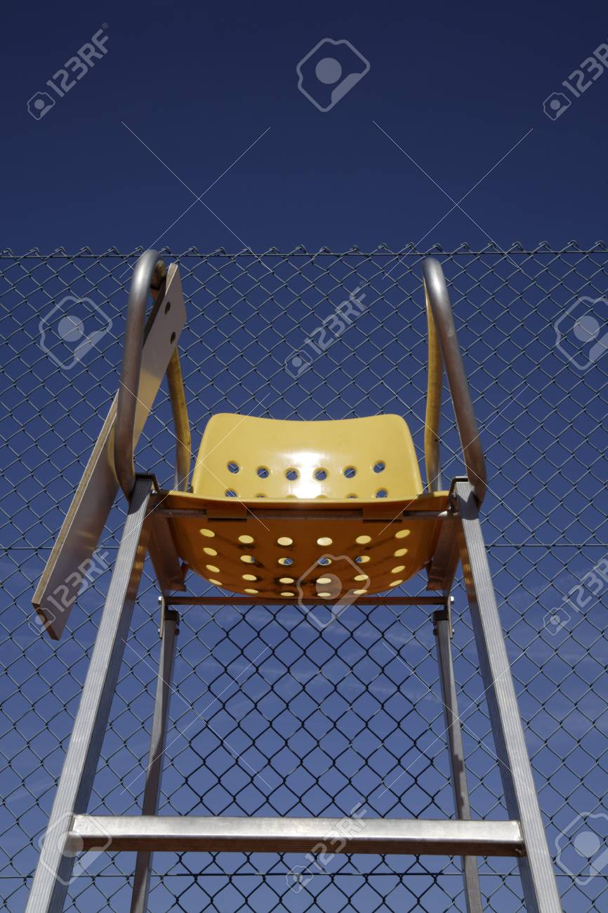 folding umpire chair dining slipcovers diy germany bavaria tennis s close up stock photo 89799337