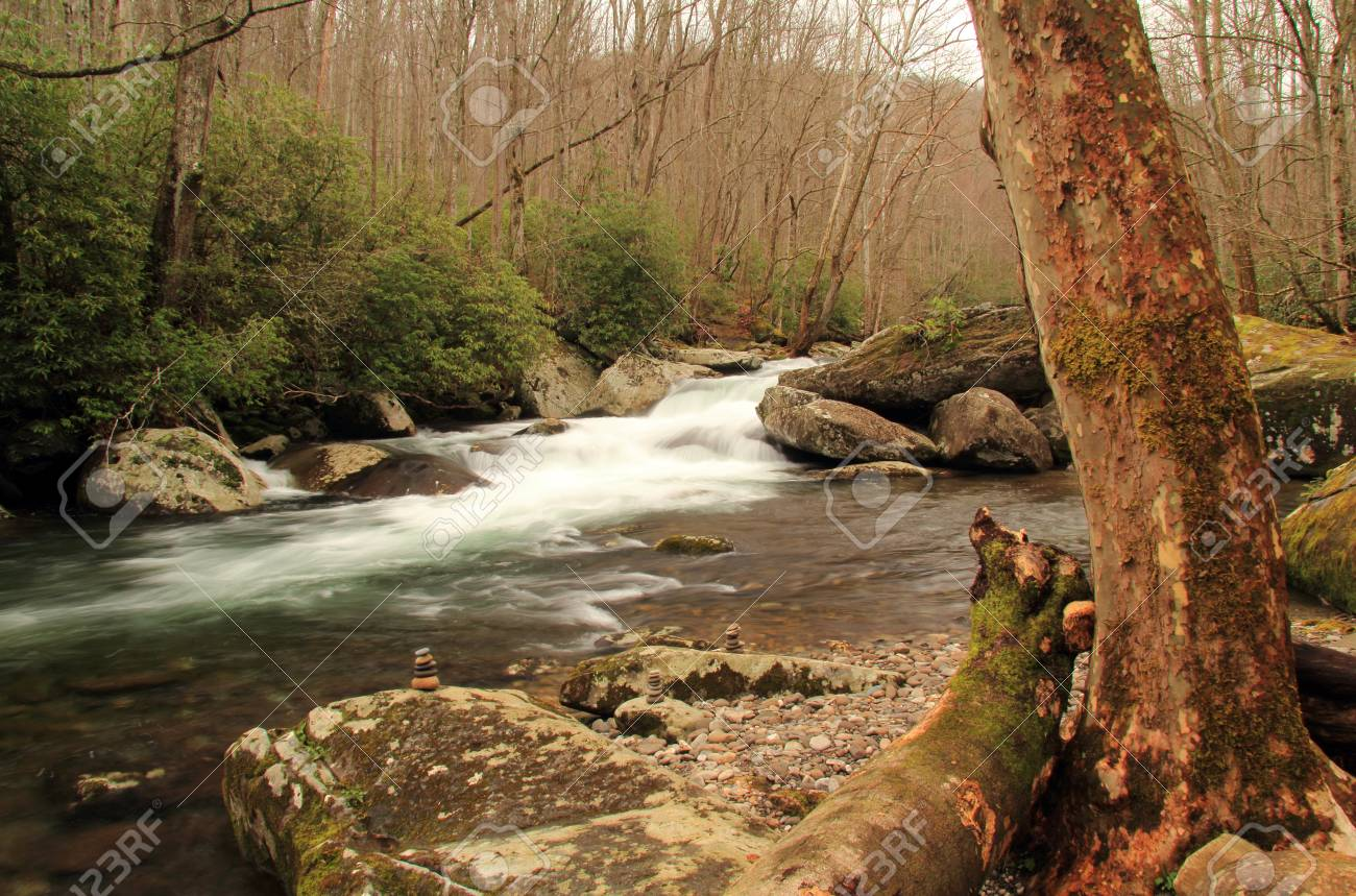 Partially Located In Great Smokey Mountains National Park The