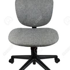 Office Chair Without Arms French Canopy Arm Rest Isolate Background Stock Photo 47457736
