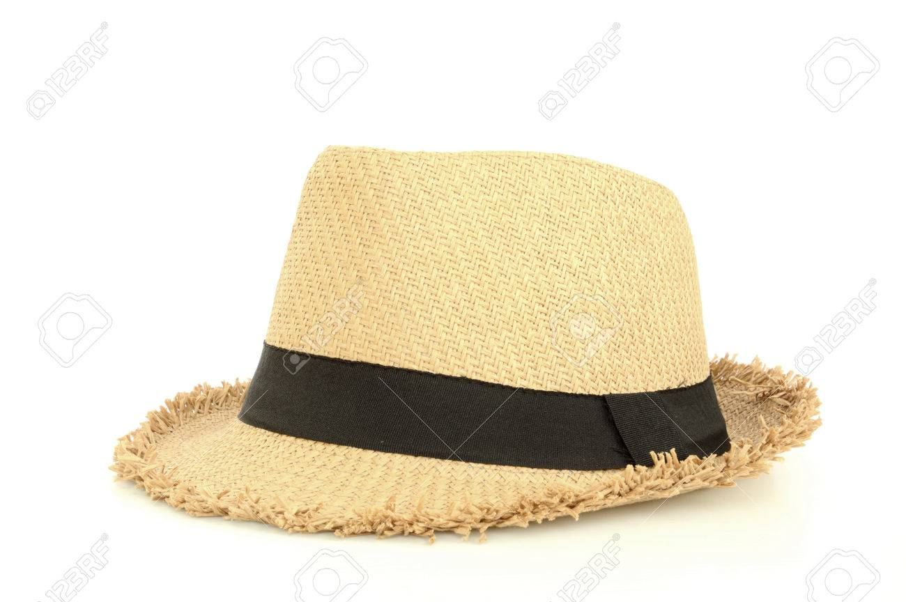 brown hat for traveling