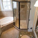 Elegant Modern Bathroom Remodel Overhead View