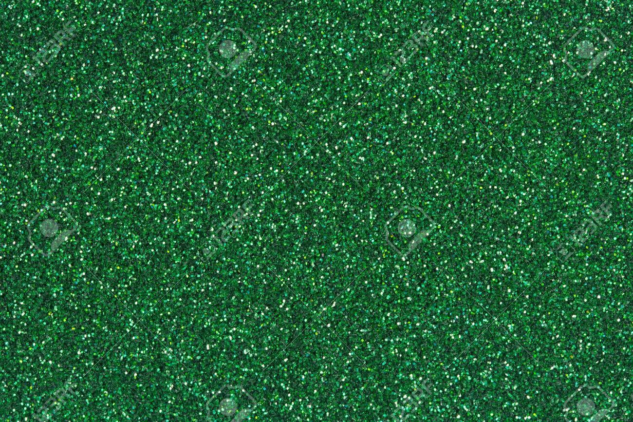 emerald green glitter texture
