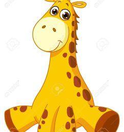 baby giraffe illustration [ 1016 x 1300 Pixel ]