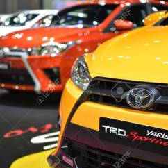 New Yaris Trd Bodykit Grand Avanza 2016 Nonthaburi November 30 Toyota Sportivo Car On Display At Thailand International Motor