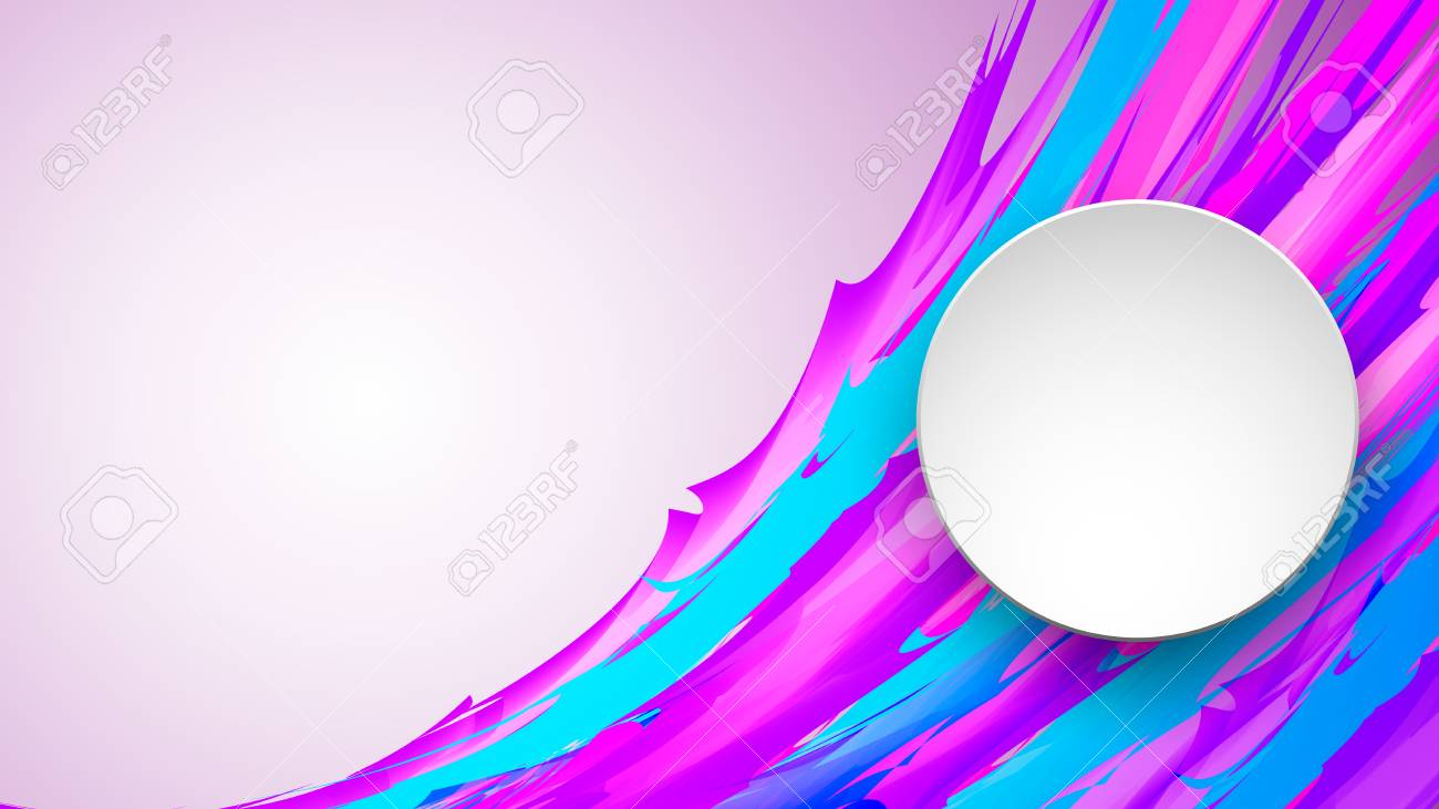 colorful banner made of