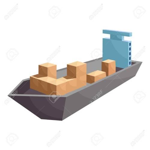 small resolution of cargo ship icon cartoon style stock photo 106779272