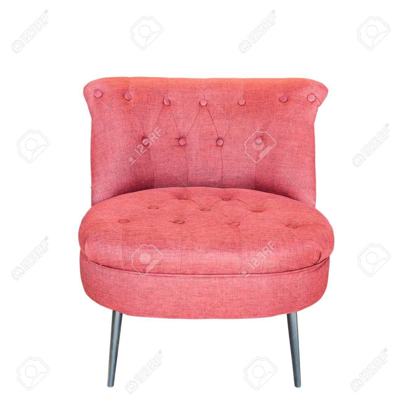 banque d images chaise moderne rouge isole sur fond blanc