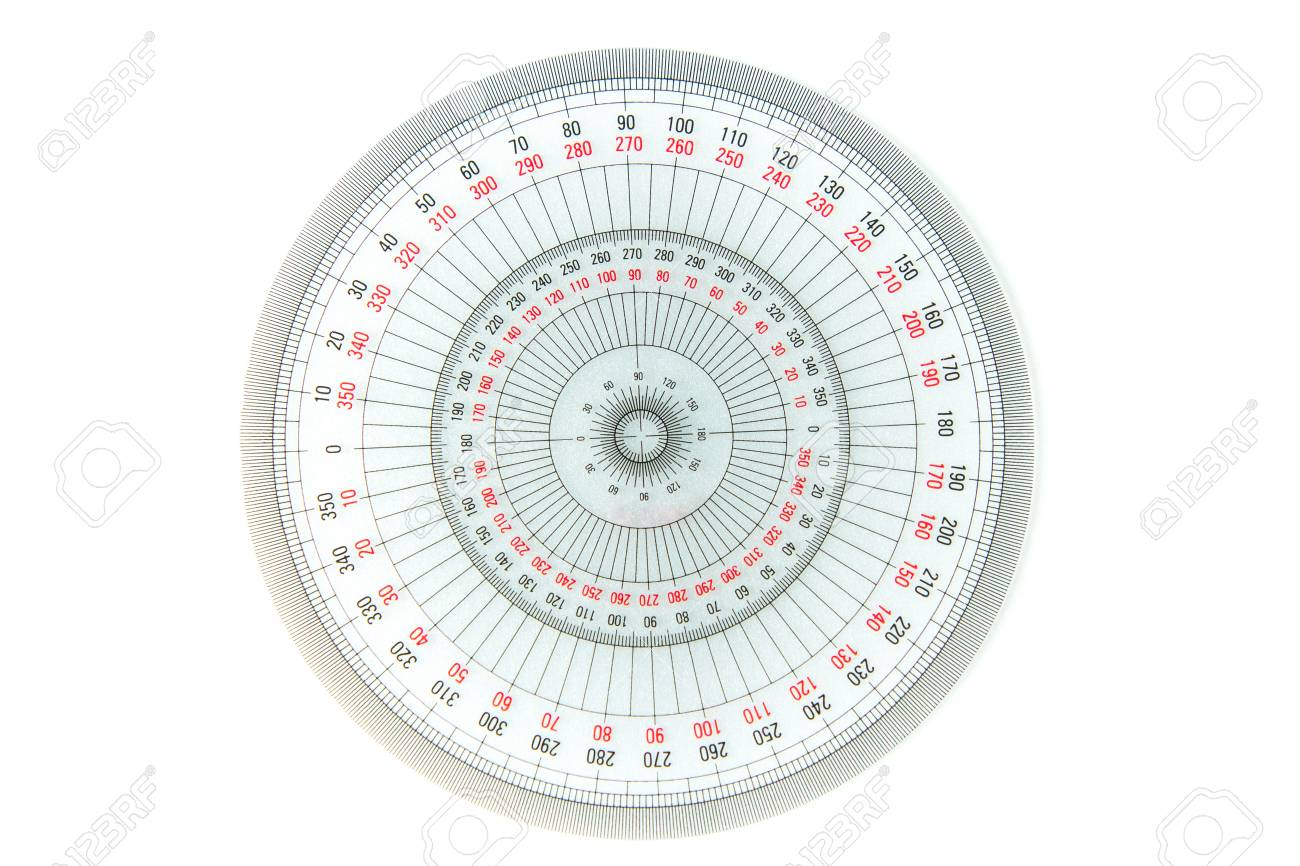 360 degree circle diagram 1984 porsche 944 wiring diagrams measuring equipment on white background transparent protractor stock photo 104370598
